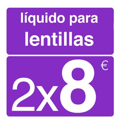 2x1 Solución única clean&co; 350 ml. (liquido lentillas blandas)