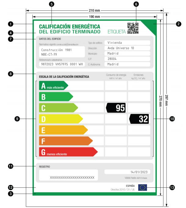 Certificado Energético + Visado colegial + Tasas de Industria