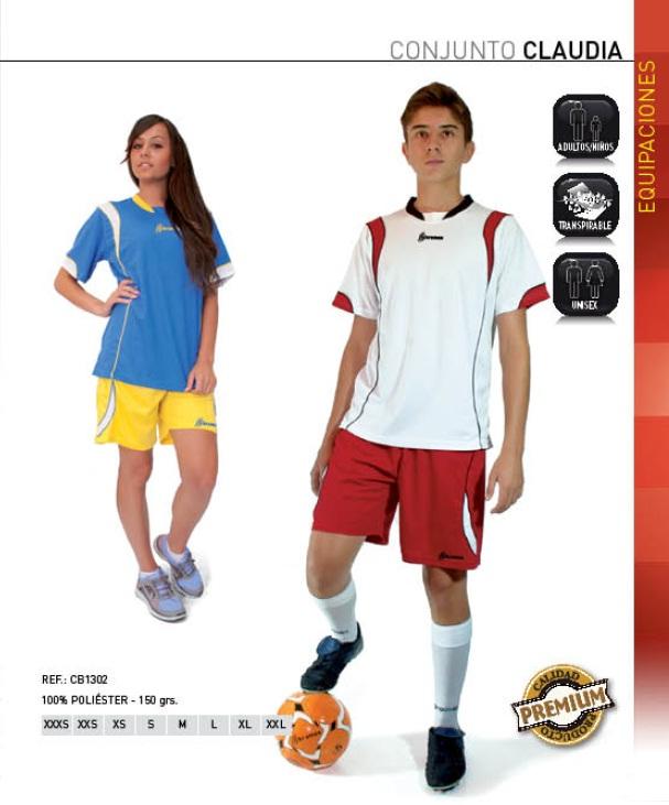 """Conjunto modelo """"Claudia"""", equipación deportiva (3 Colores), Marca Kromex"""