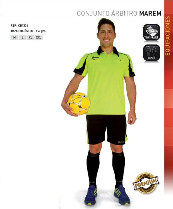 Conjunto Arbitro modelo Marem, Kromex 3 colores