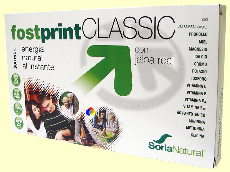 FOST PRINT CLASSIC 20 viales - JALEA REAL CON PRÓPOLIS