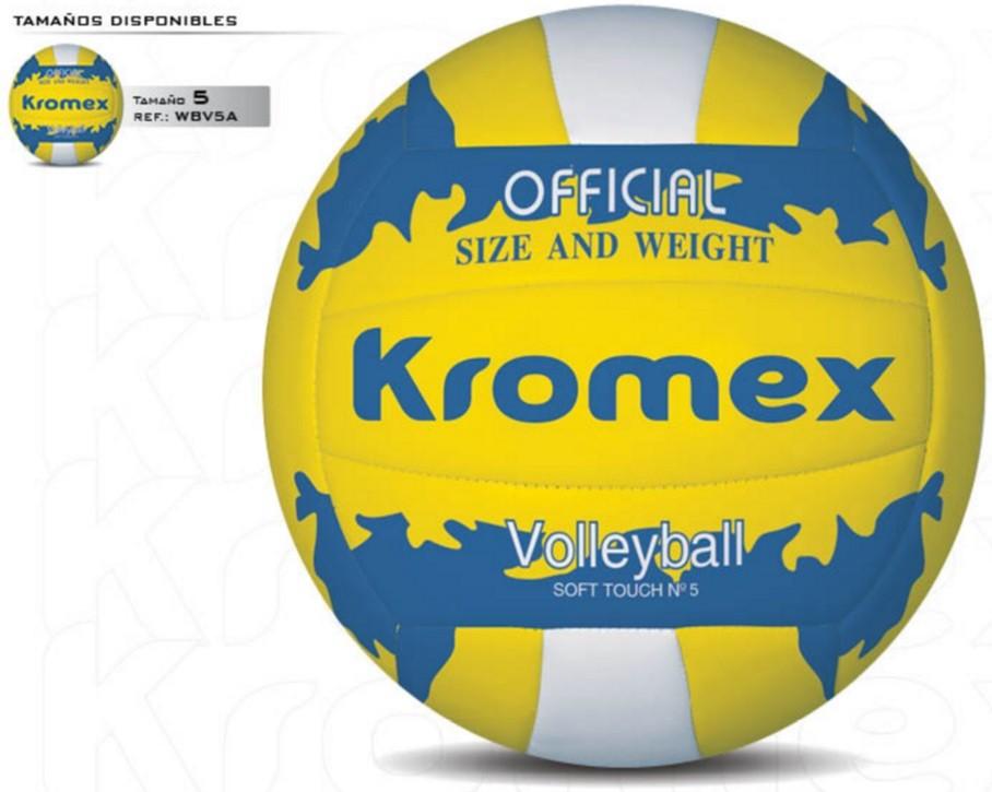 Balón de voleibol Kromex, tamaño 5