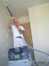 Quitar gotele de paredes y pintar en liso