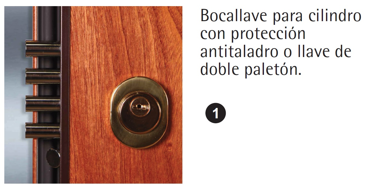 cambiar cerradura puerta acorazada dierre
