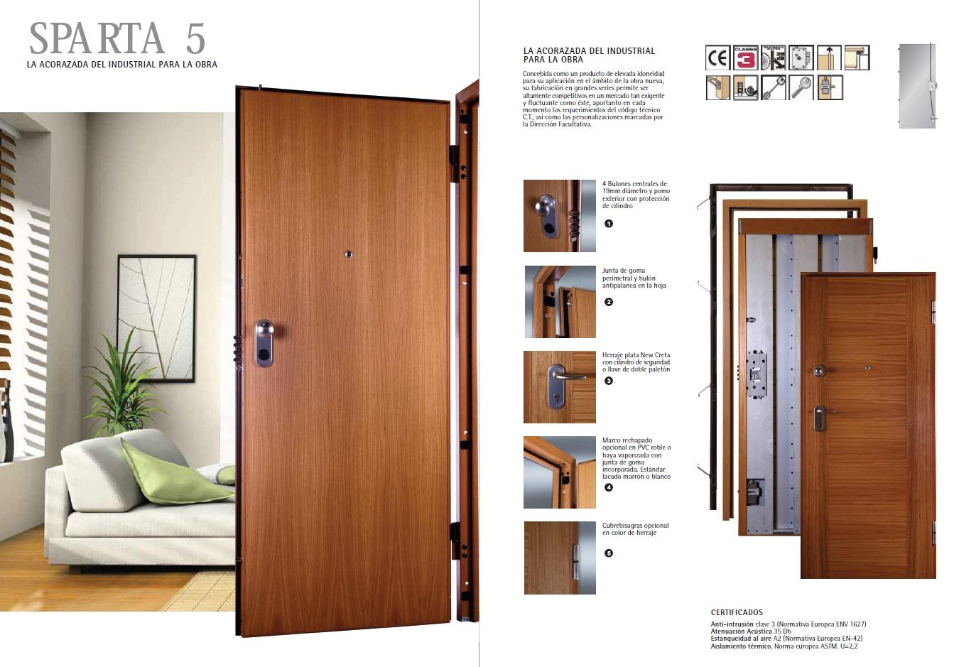 Comprar online puertas acorazadas en cartagena clickbuy for Puertas para vivienda
