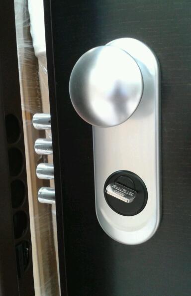 Puerta acorazada sparta 5 dierre especial entrada a - Pomo puerta exterior ...