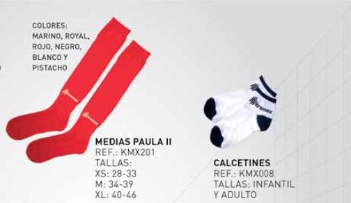 Medias/Calcetas Modelo PAULA II y Calcetines, Marca Kromex