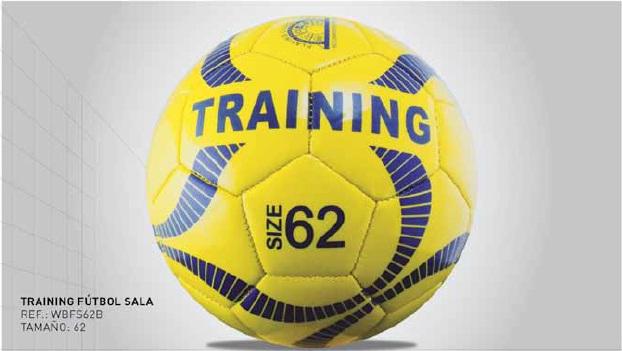 Balón de entrenamiento de Futbol sala, tamaño y/o talla 58 y 62, Kromex