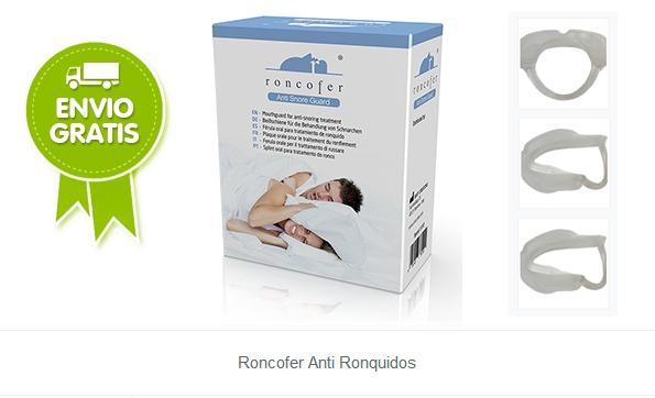 Roncofer Anti Ronquidos, deja de roncar sin operaciones
