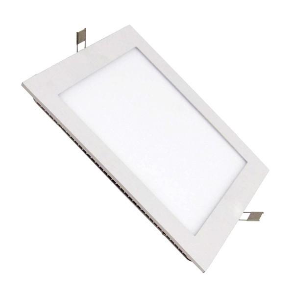 Placa LED Cuadrada SuperSlim 18W