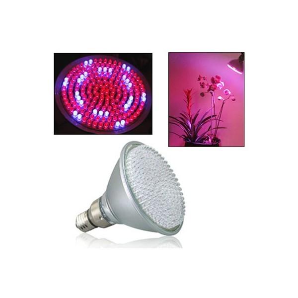 Bombilla LED Grow E27 Rojo/Azul 8W