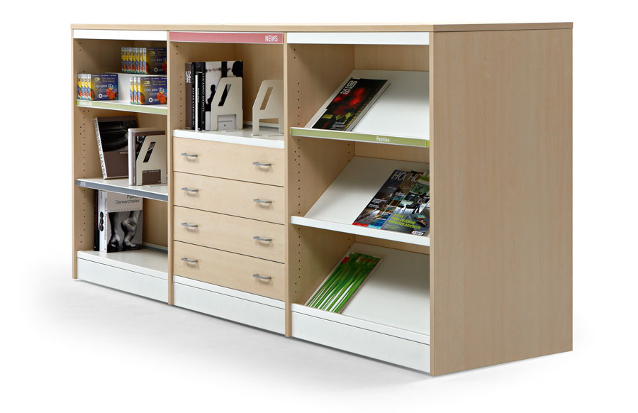 Estanter as de bibliotecas class 20 actiu de actiu for Actiu muebles