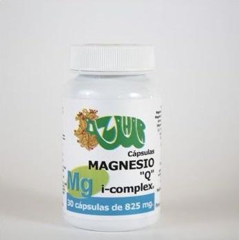 """MAGNESIO I COMPLEX """"Q"""" 30 CAP DE 825 MG"""