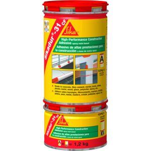 Sikadur®-31 EF Adhesivo tixotrópico a base de resinas epoxi, de dos componentes