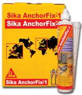 Sika Anchor Fix® -1 Adhesivo para anclajes de rápido endurecimiento.