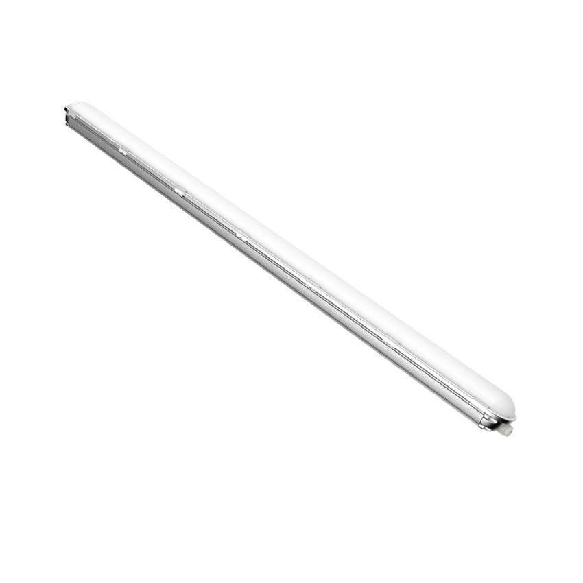 Pantalla Estanca LED Aluminio 1200mm 40W - IP65 PARA EXTERIORES - Blanco Frío