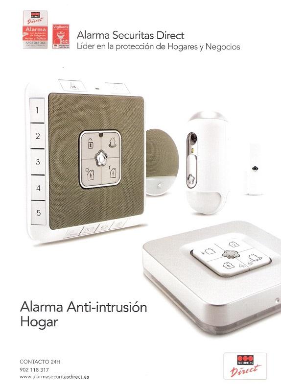 Alarma anti-intrusión HOGAR