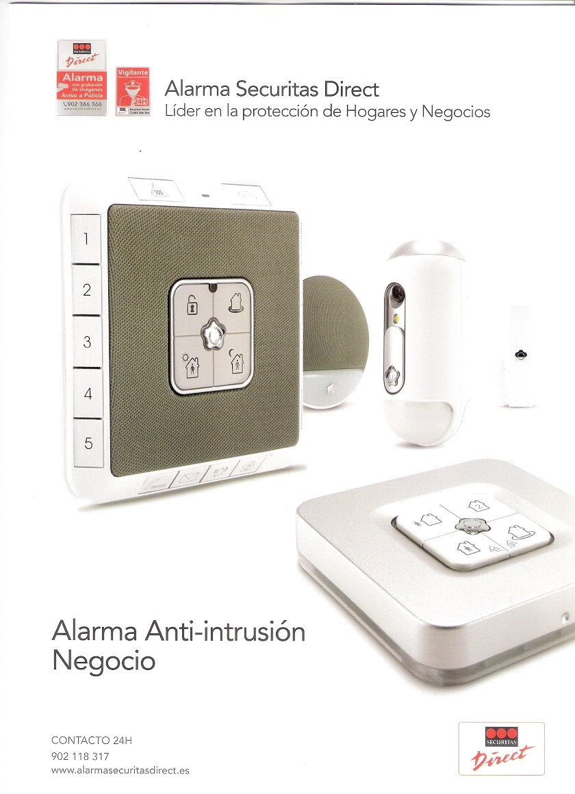 Alarma anti-intrusión NEGOCIO