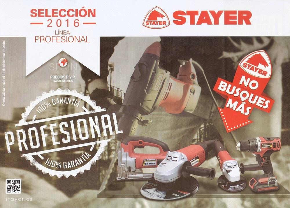 STAYER, Maquinas y Herramientas Profesionales