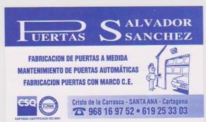 PUERTAS SALVADOR SANCHEZ, S.L.